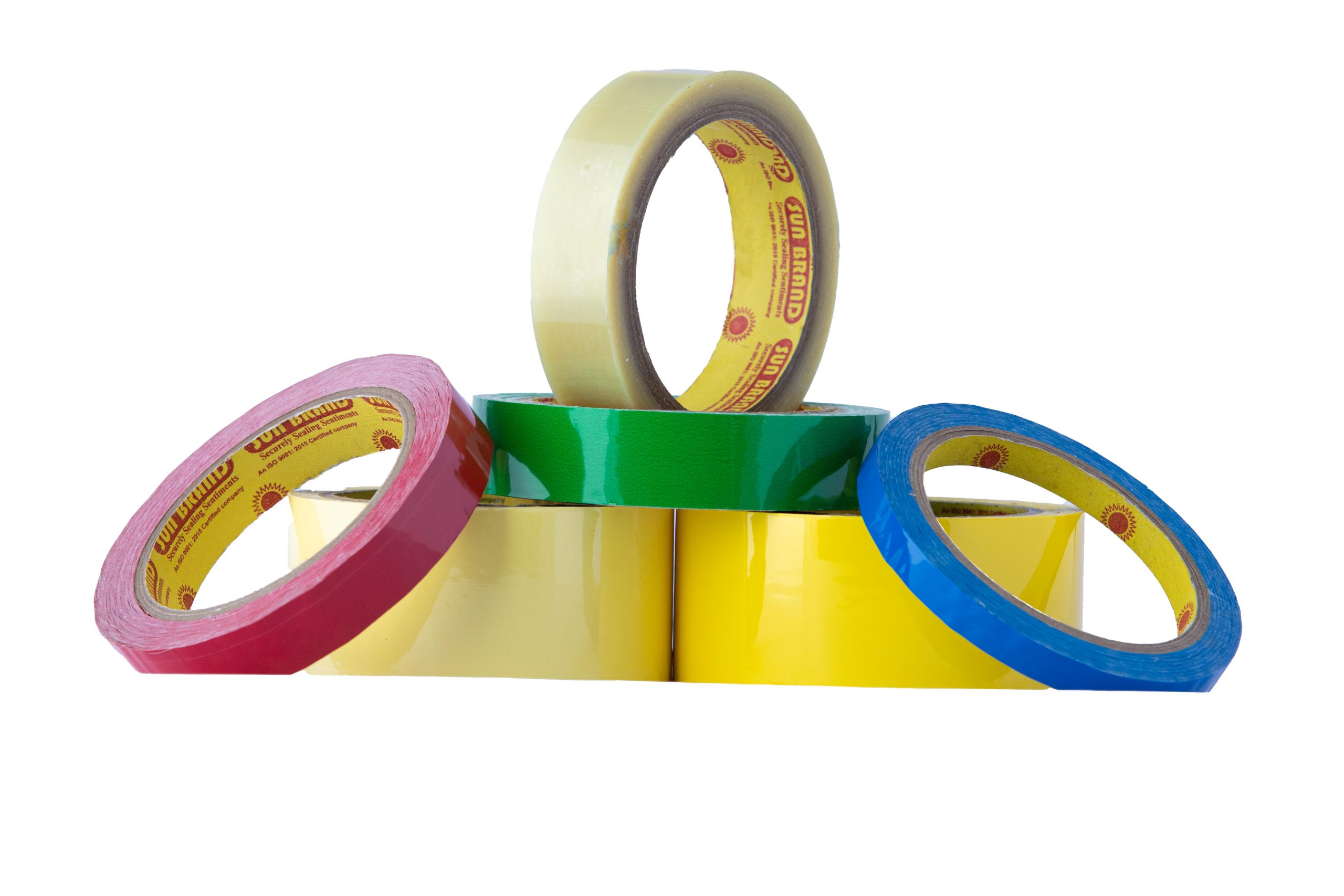 Coloured Polyester Tape