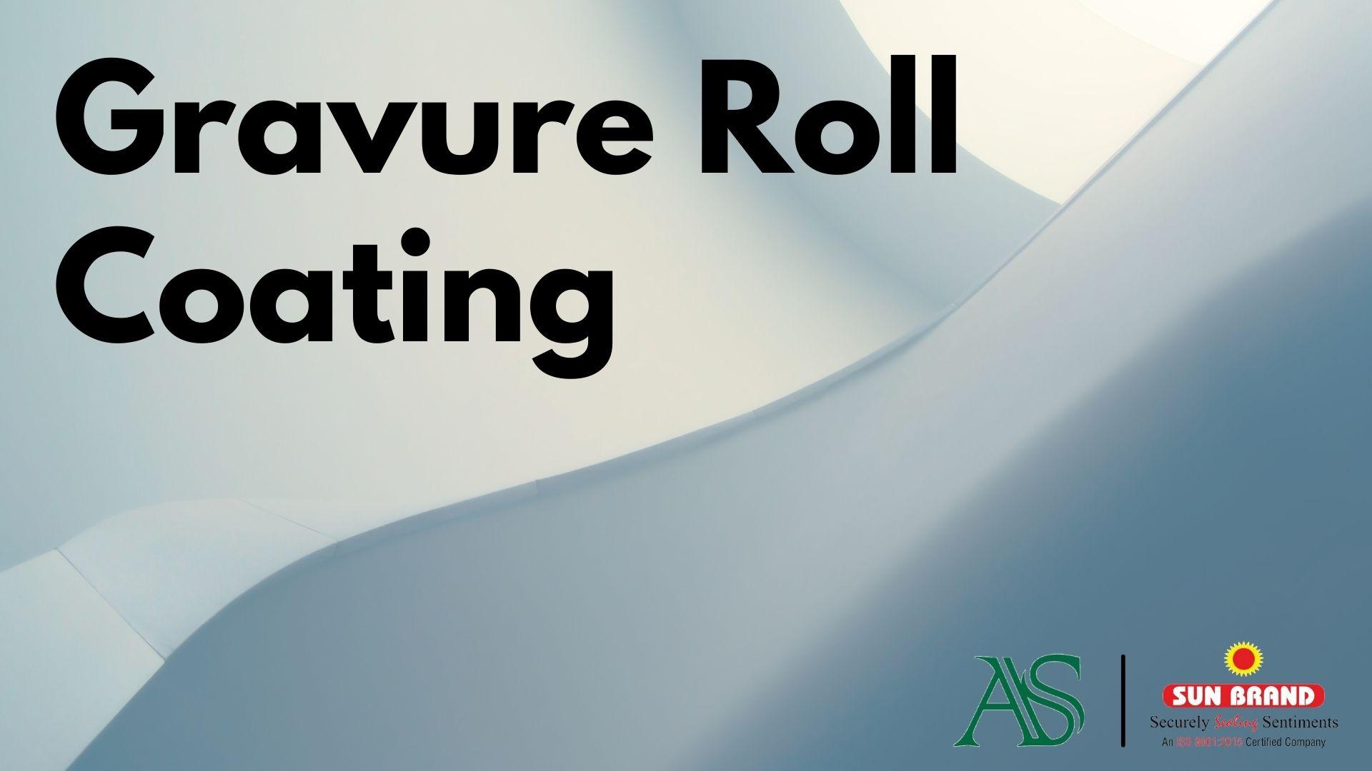 Gravure Roll Coating