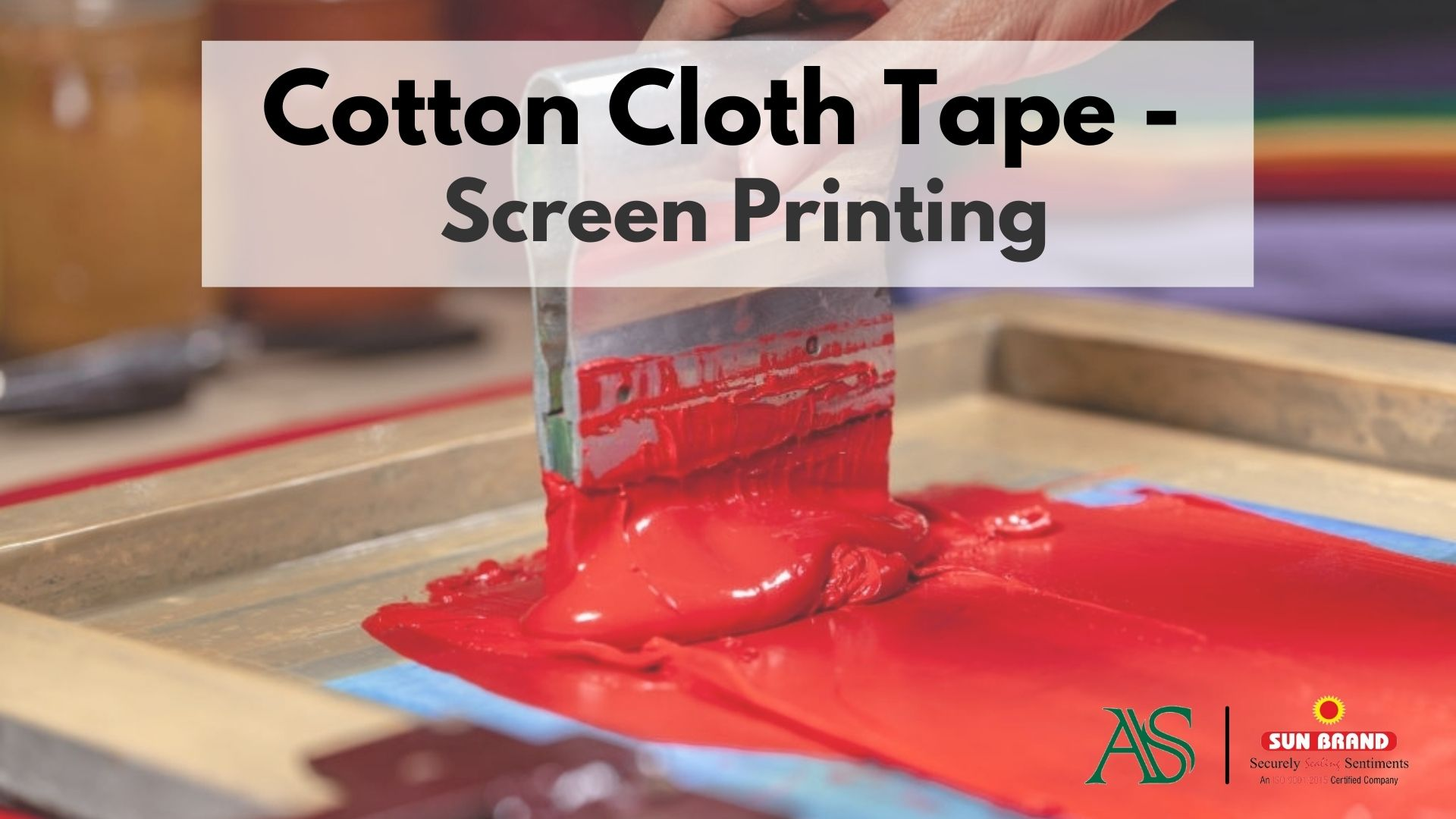 Adhesive Specialities Cotton Cloth Tape - Screen Printing