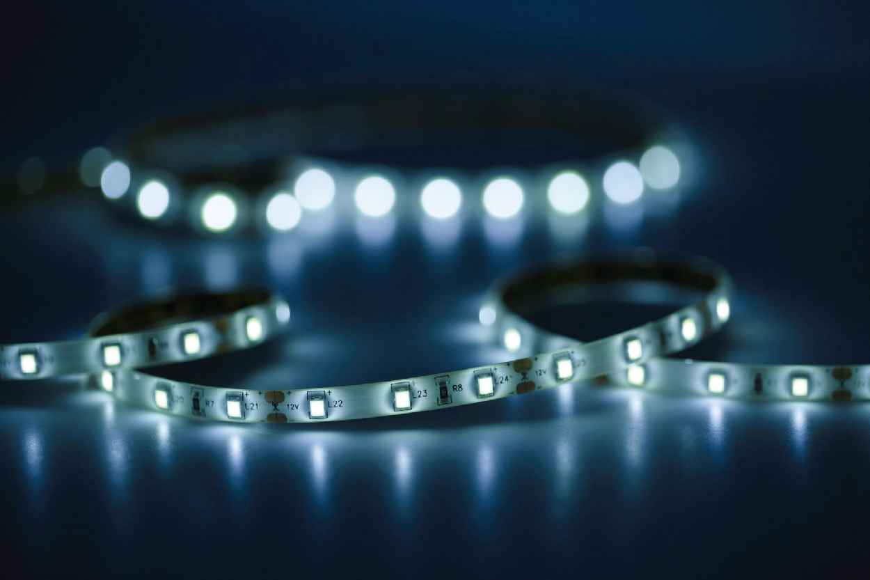 led tapes by adhesive