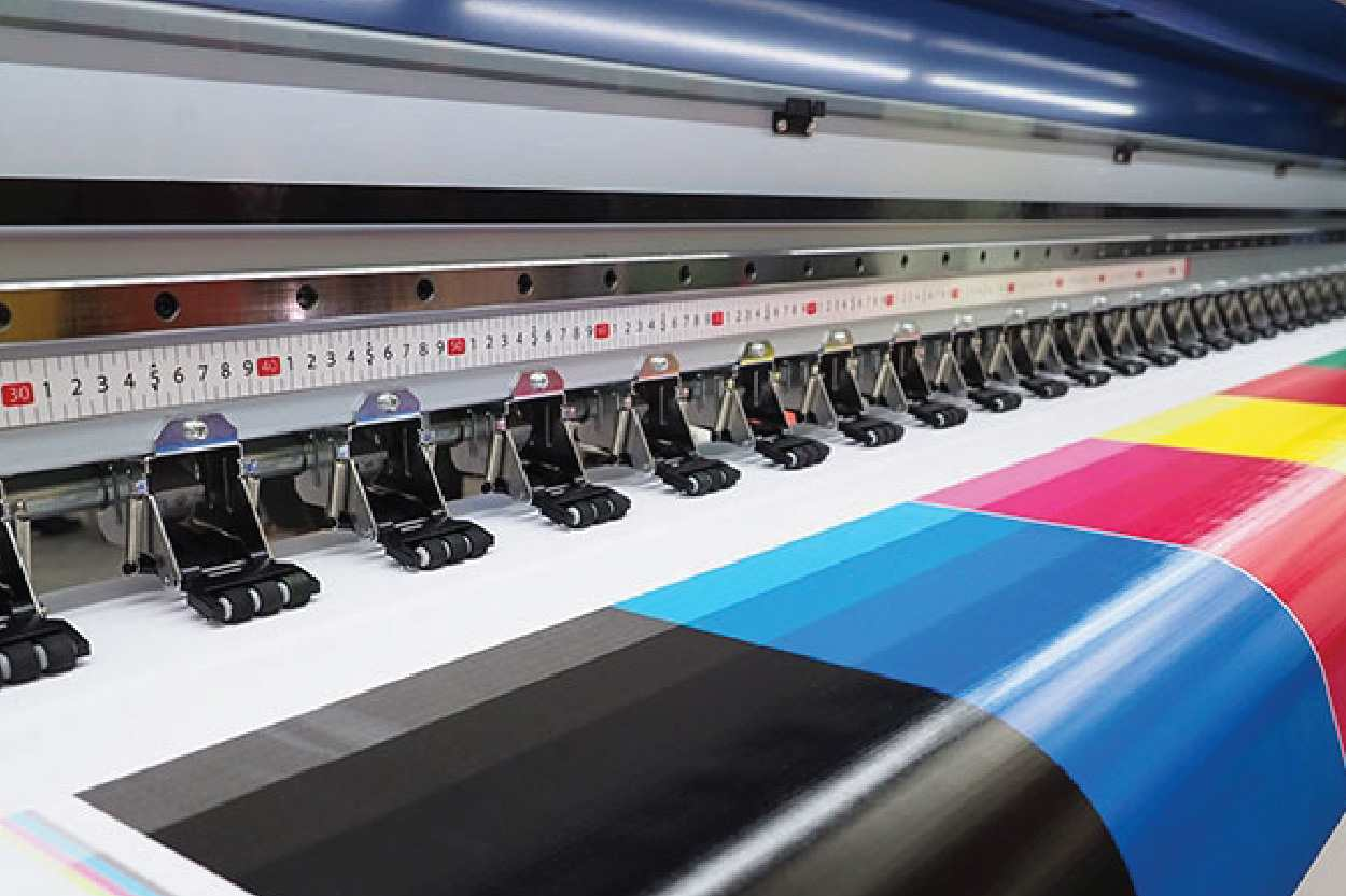 printing tapes by adhesive
